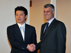 Prime Minister Thaci in Japan